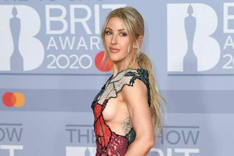 Ellie Goulding bei den Brit Awards.