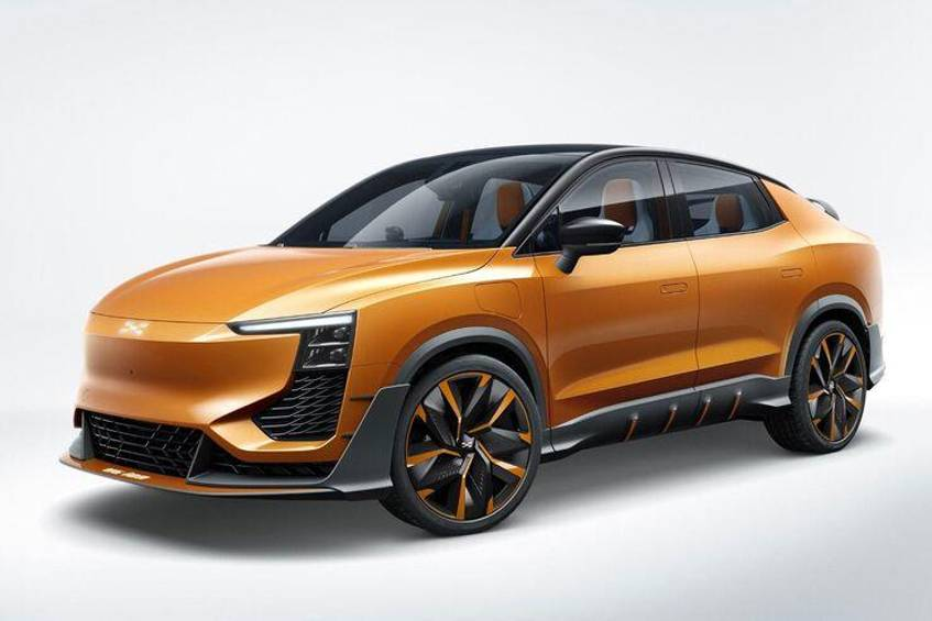Aiways U6 Ion Concept: Elektro-SUV-Coupé aus China