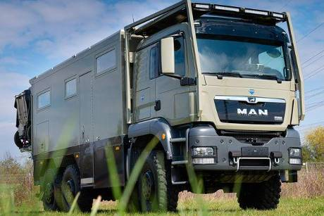 UNICAT Individual Expeditionsfahrzeug MD56c MAN TGS 6x6