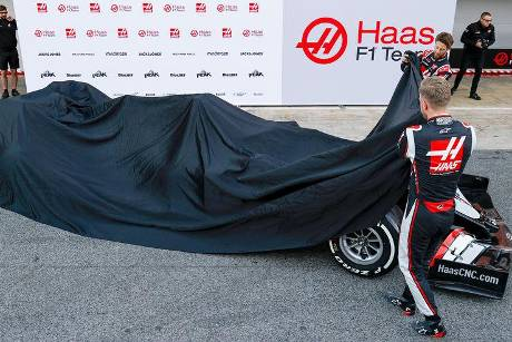 Haas - Launch - Enthüllung - Barcelona 2020