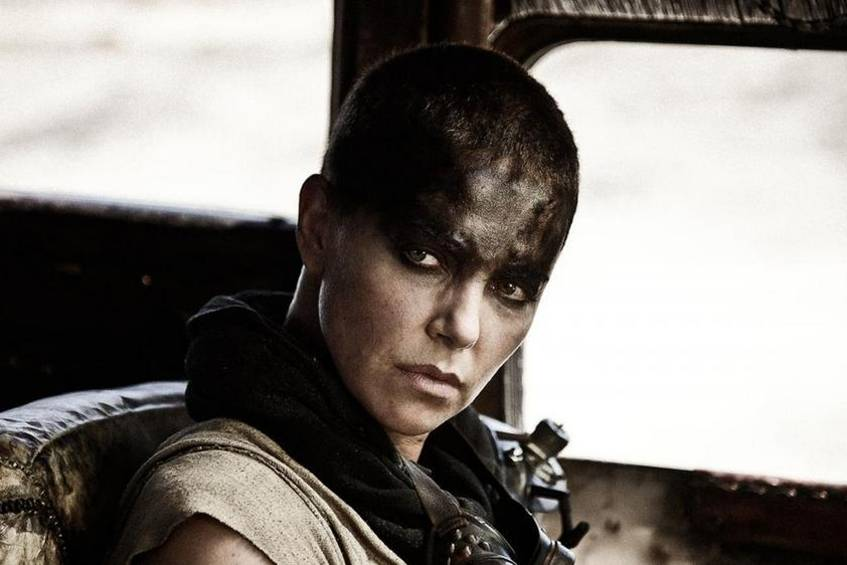 "Charlize Theron als Furiosa in ""Mad Max: Fury Road"""