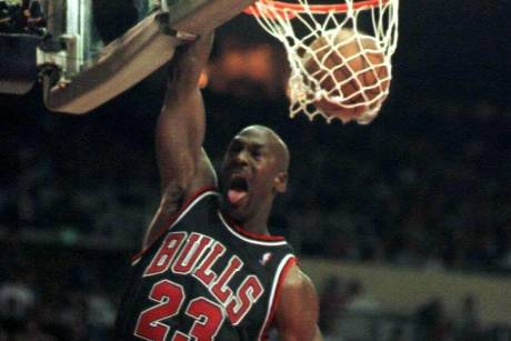 """His Airness"" Michael Jordan"