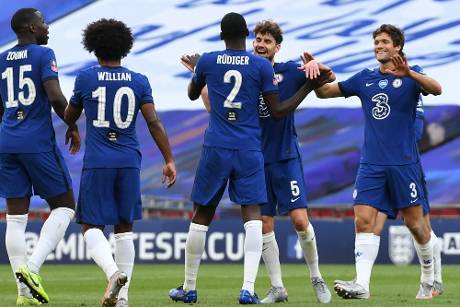 Chelsea folgt Arsenal ins FA-Cup-Finale