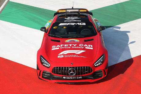 Mercedes AMG GT R - Safety Car - GP Toskana 2020