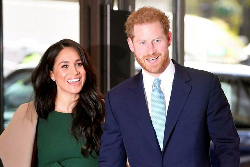 Prinz Harry und Herzogin Meghan Ende 2019 in London