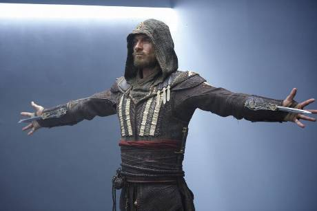 """Michael Fassbender in """"Assassin's Creed"""" (2016)."""
