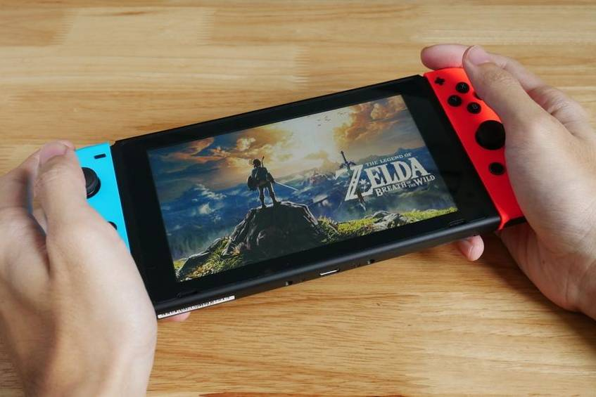 """The Legend of Zelda: Breath of the Wild"" ist 2017 für Nintendo Switch erschienen."