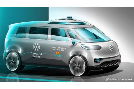 VW ID.Buzz Autonom