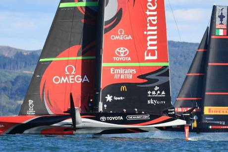 Enges Duell beim America's Cup: 2:2 nach Tag zwei