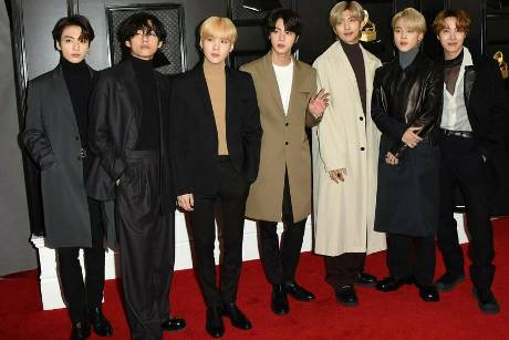 BTS bei den Grammy Awards 2020