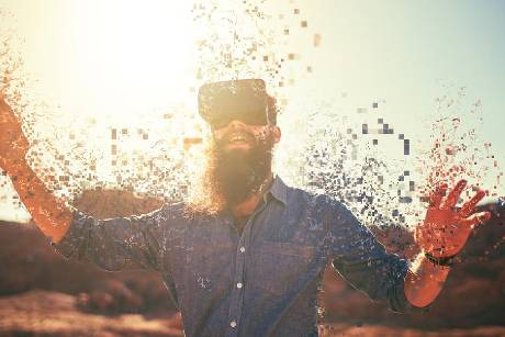 Virtual-Reality-Headsets bringen ihre User an andere Orte.