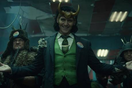 "Tom Hiddleston in der neuen Marvel-Serie ""Loki""."