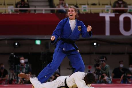 Judo: Weltmeisterin Wagner holt Olympia-Bronze