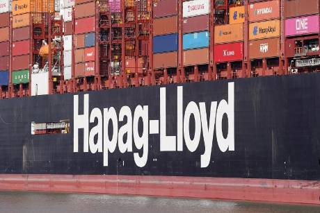 """Hapag-Lloyd Containerschiff """"Brussels Express"""""""
